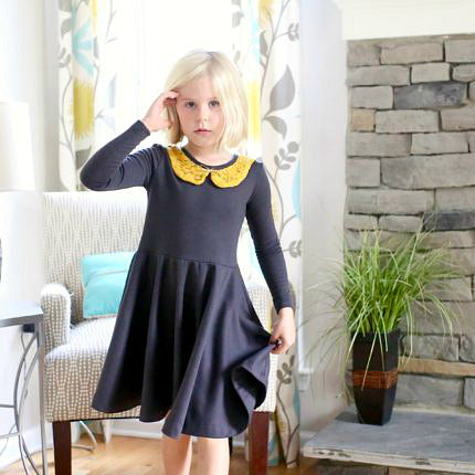 Janie Dress and Peplum (For Girls)