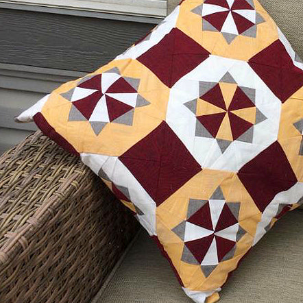 Kaleidostar Pillow