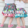 Kelly's Twirl Skirt (Girls)