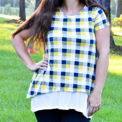 Ladies Two Tone Tunic