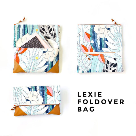 Lexie Foldover Bag