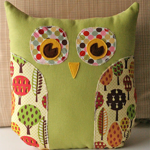 Lola the Owl Pillow and Bonus Lola Owl Bag