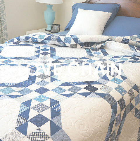 Love Chain Quilt Pattern