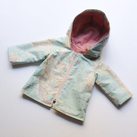 Mini-Mini Truffle Coat and Raincoat (3M – 3 years)