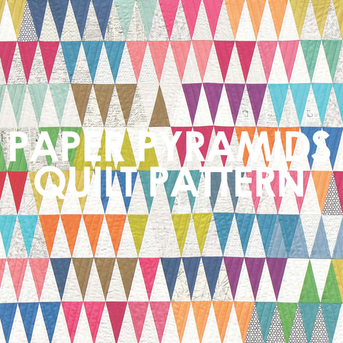Paper Pyramids Quilt Pattern
