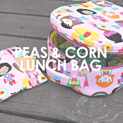 Peas and Corn Lunch Bag