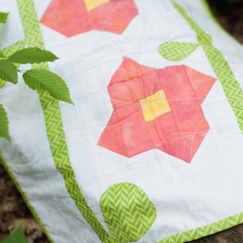 Peony Parade Table Runner