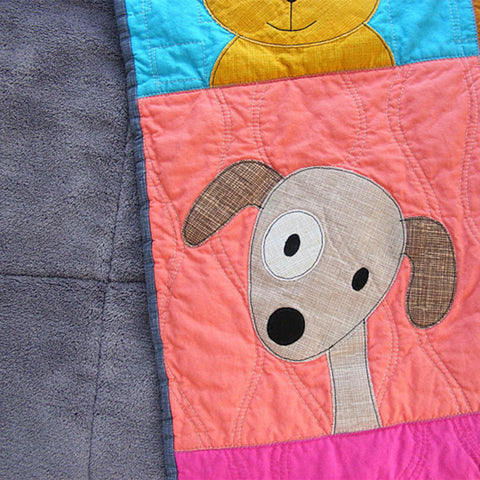 Playful Puppies Quilt Pattern