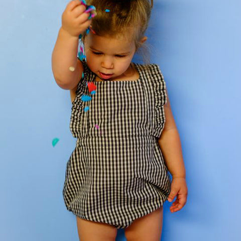 Ring Around the Rosie dress & romper