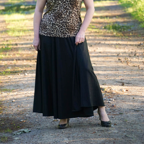 Women's Rose Circle Skirt