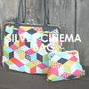Silver Cinema Bag & Coin Purse