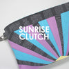Paper Pieced Sunrise Clutch