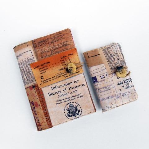 Voyage Passport Cover and Card Case Set