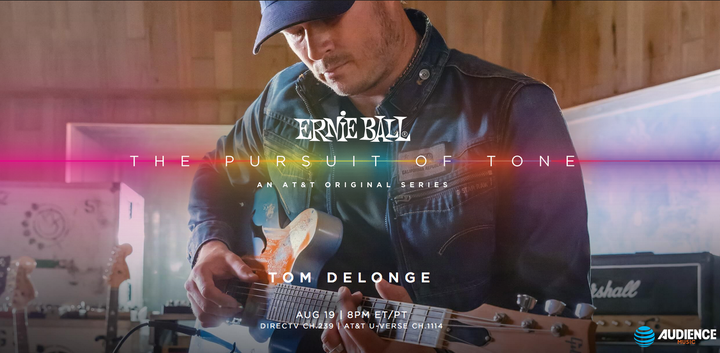 The Pursuit of Tone with Tom DeLonge Airs August 19th. Watch the trailer now!