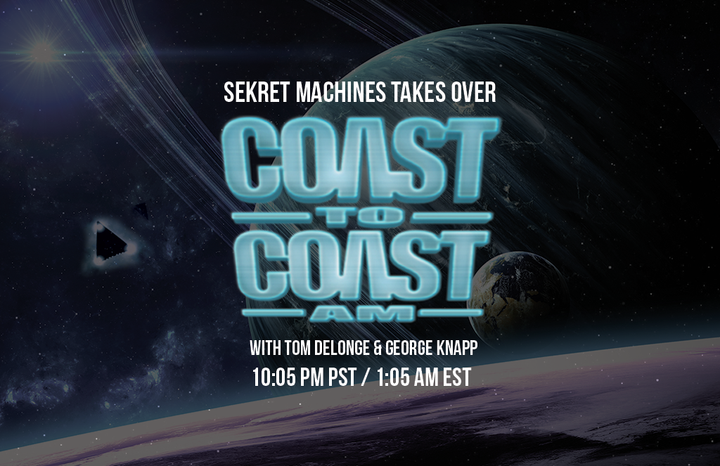 Tom on Coast to Coast This Sunday March 27th!
