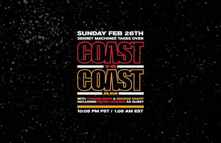 Sekret Machines Takes Over Coast to Coast This Sunday Night.