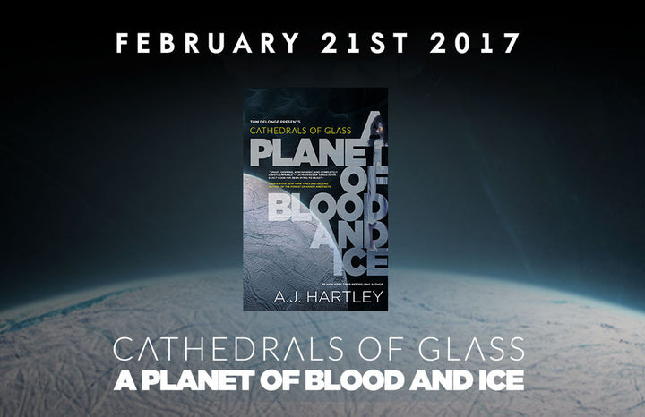 Cathedrals of Glass Hits Shelves February 21, 2017 - Pre-Order NOW