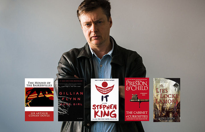 #WorldBookDay Picks: AJ's Favorite Thrillers