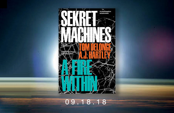 TOM DELONGE Announces September 18 Release for SEKRET MACHINES - A FIRE WITHIN