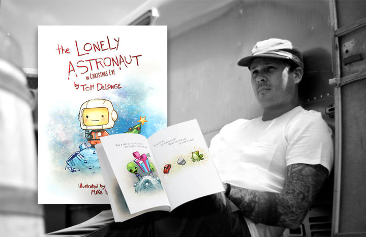 EVER WANT TO HAVE TOM DELONGE READ YOU A BEDTIME STORY???