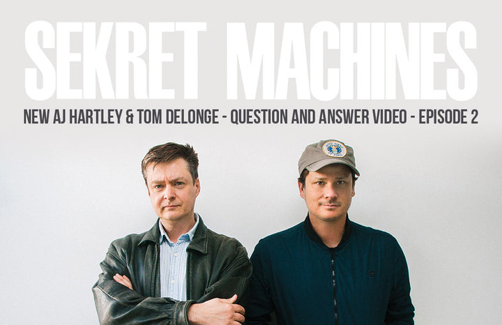 Episode 2 is Up! Sekret Machines Q & A with Tom DeLonge and AJ Hartley