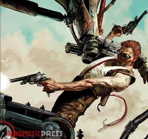 Wasted Lands Omnibus by Magnetic Press