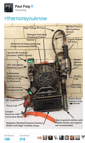 Proton Pack Ghostbusters 3