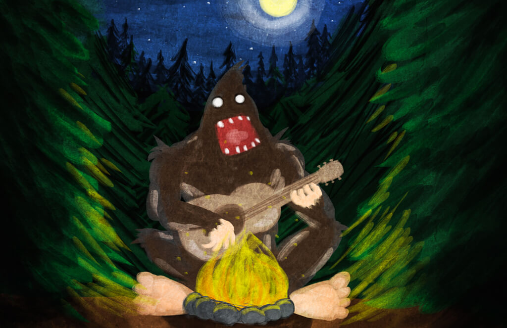 5 Songs About Bigfoot