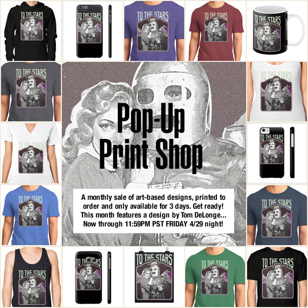 To The Stars Pop-Up Print Shop