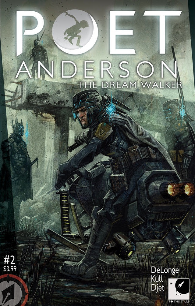 Poet Anderson: The Dream Walker Issue 2
