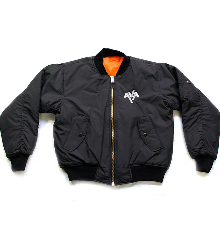 Flight of the Apollo Embroidered Bomber Jacket