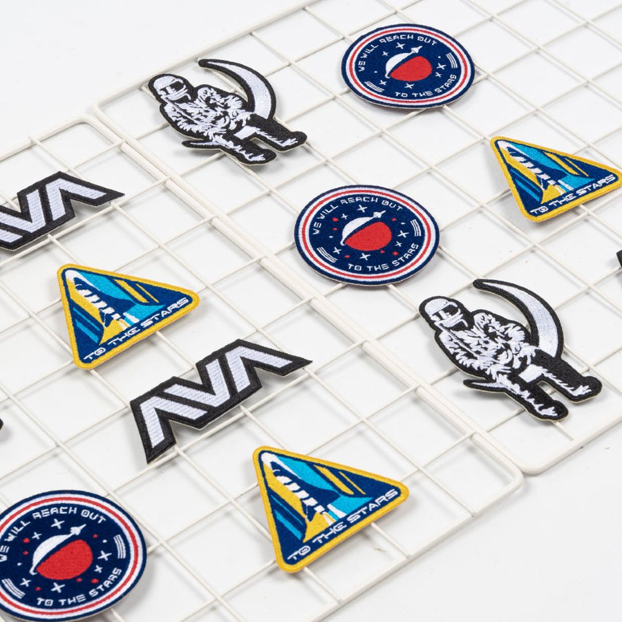 Rocket Embroidered Patch