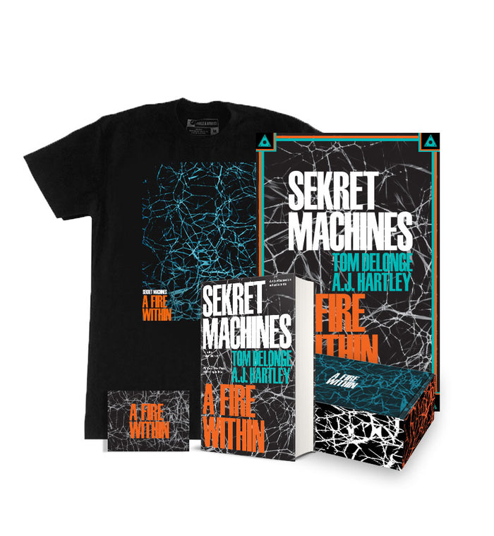 A Fire Within Book Box + T-Shirt