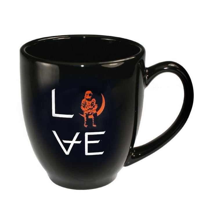 Angels and Airwaves Love Stacked Logo Mug Black/Orange - To The Stars - 1