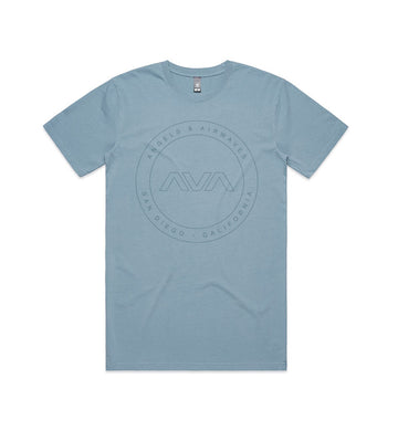 EDMPL Circle Faded T-Shirt Teal