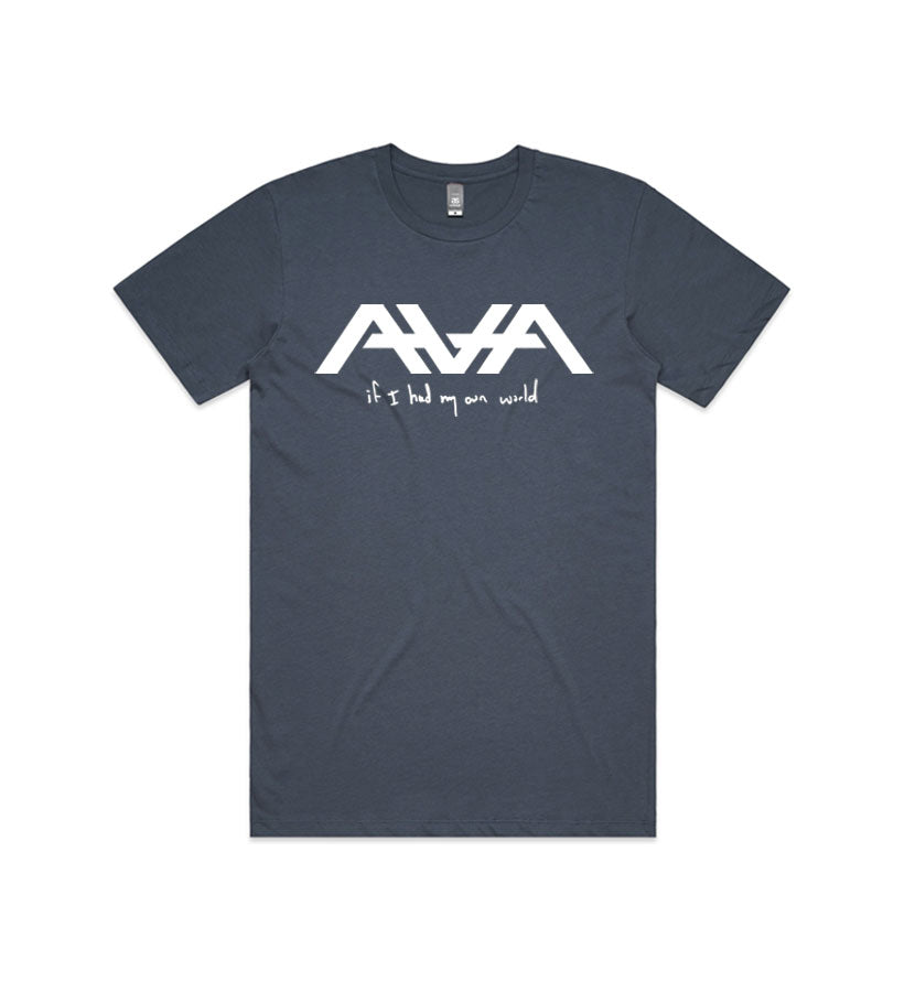Angels and Airwaves If I Had My Own World T-Shirt Petrol Blue - To The Stars...