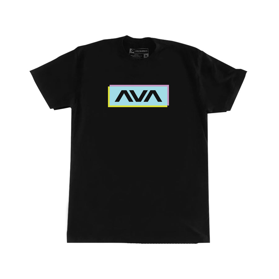 Angels and Airwaves Neon Clean Logo T-Shirt Black - To The Stars...