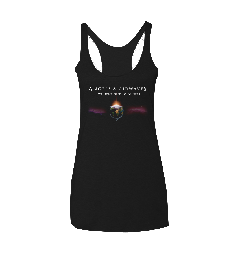 We Don't Need to Whisper Womens Tank Vintage Black