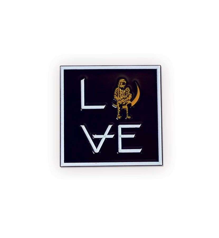 LOVE Stacked Lapel Pin