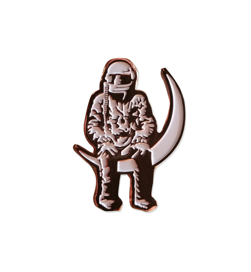 Angels and Airwaves-Moon Man Lapel Pin-To The Stars...