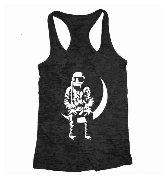 Moon Man Womens Tank Top