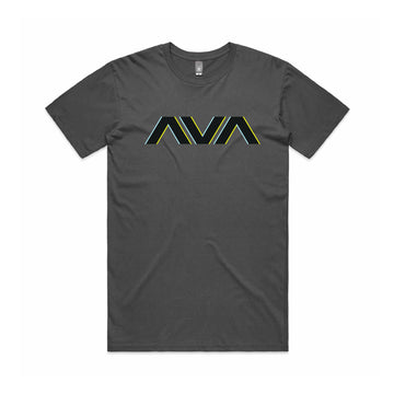 Angels and Airwaves Neon Clean Logo T-Shirt Charcoal - To The Stars...