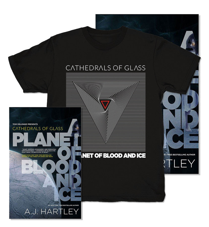 Cathedrals of Glass A Planet of Blood and Ice + Division T-Shirt - To The Stars