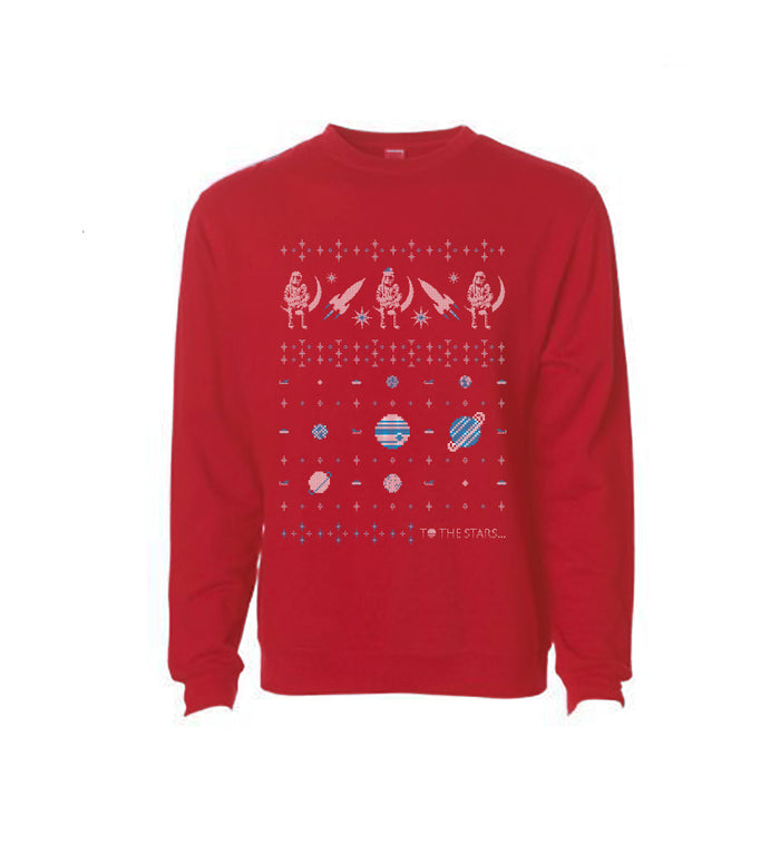 x To The Stars… 2017 Holiday Unisex Crew Sweatshirt