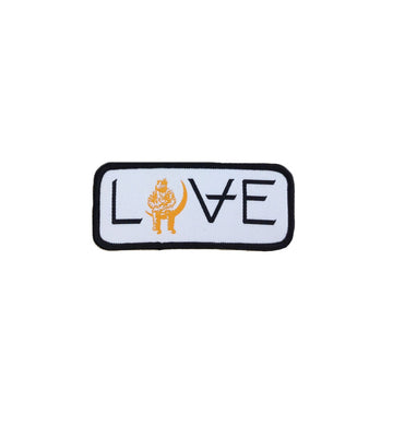 LOVE Movie White Rectangle Patch