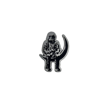Angels and Airwaves Moon Man Lapel Pin Silver - To The Stars...