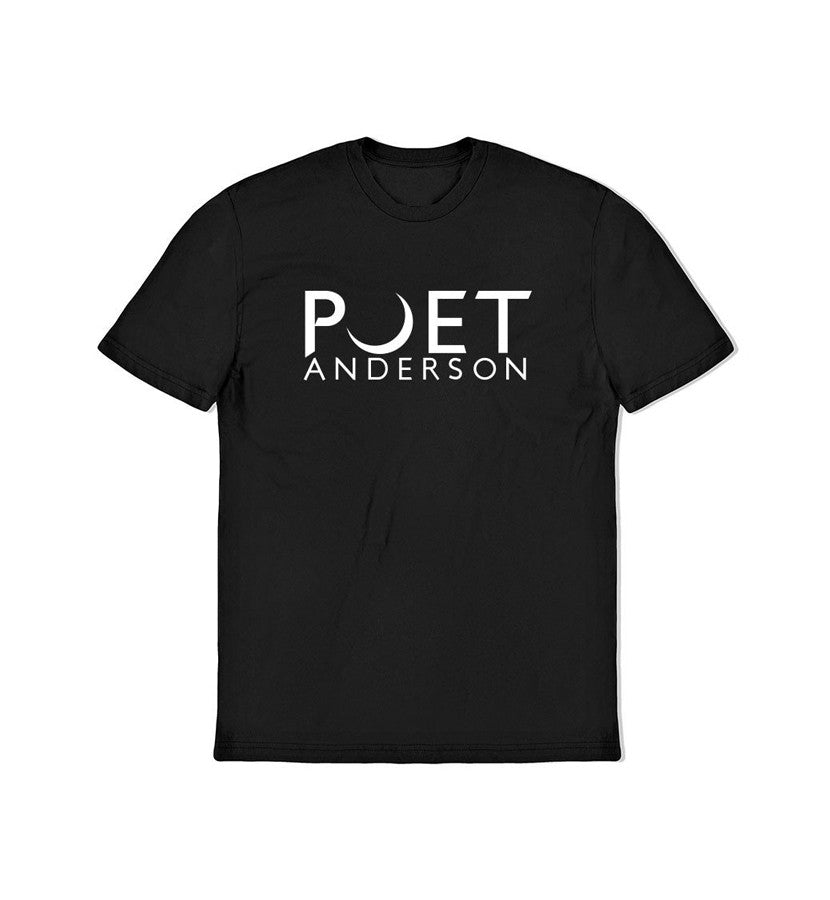 Poet Anderson Crescent Logo T-Shirt Black - To The Stars