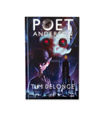 Poet Anderson Deluxe Graphic Novel Hardcover + CD - To The Stars...