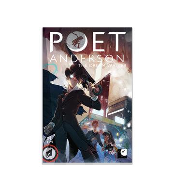 Poet Anderson The Dream Walker Issue #1 - To The Stars...