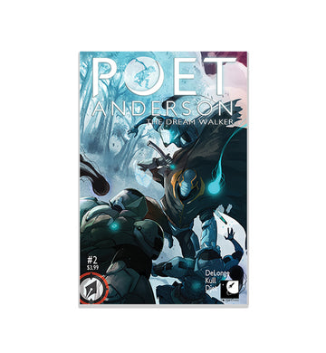 Poet Anderson The Dream Walker Issue #2 - To The Stars...